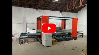 hot wire foam 2d cutting machine